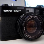 OLYMPUS 35 SP Black